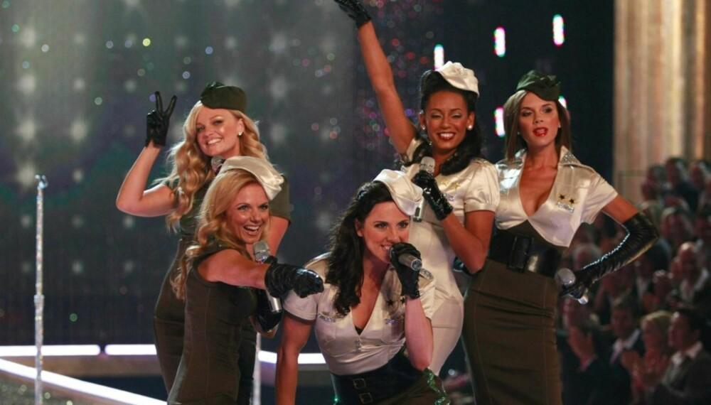 Spice Girls på scenen i Hollywood
