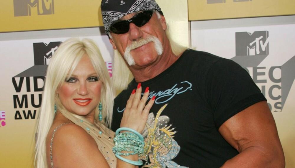 Linda og Hulk Hogan