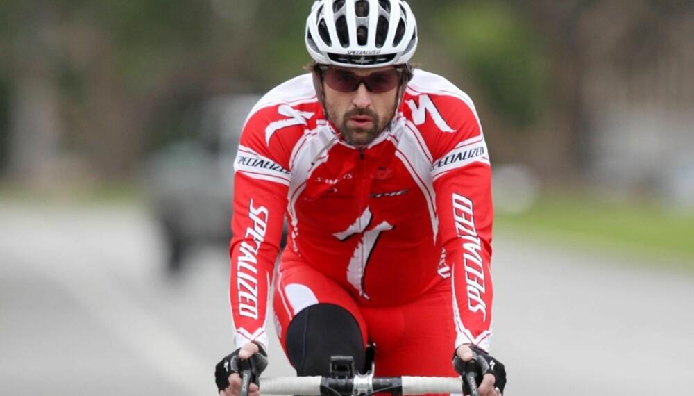 Patrick Dempsey på sykkeltur