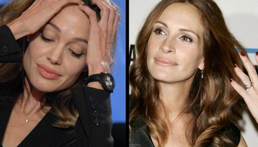 Angelina Jolie og Julia Roberts