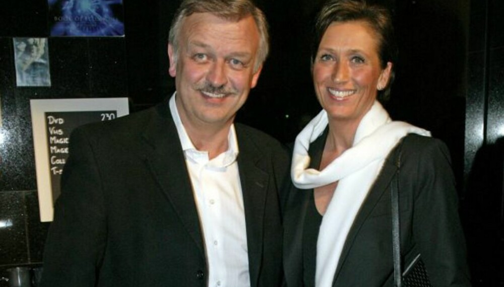 Hallvard Flatland og kona Anne Lise
