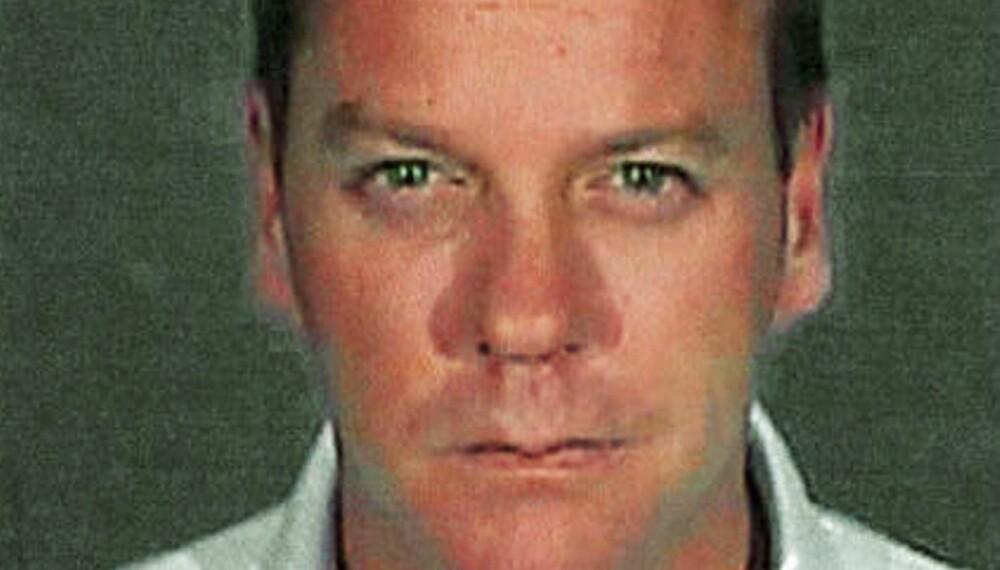 Kiefer Sutherlands fengslingsfoto