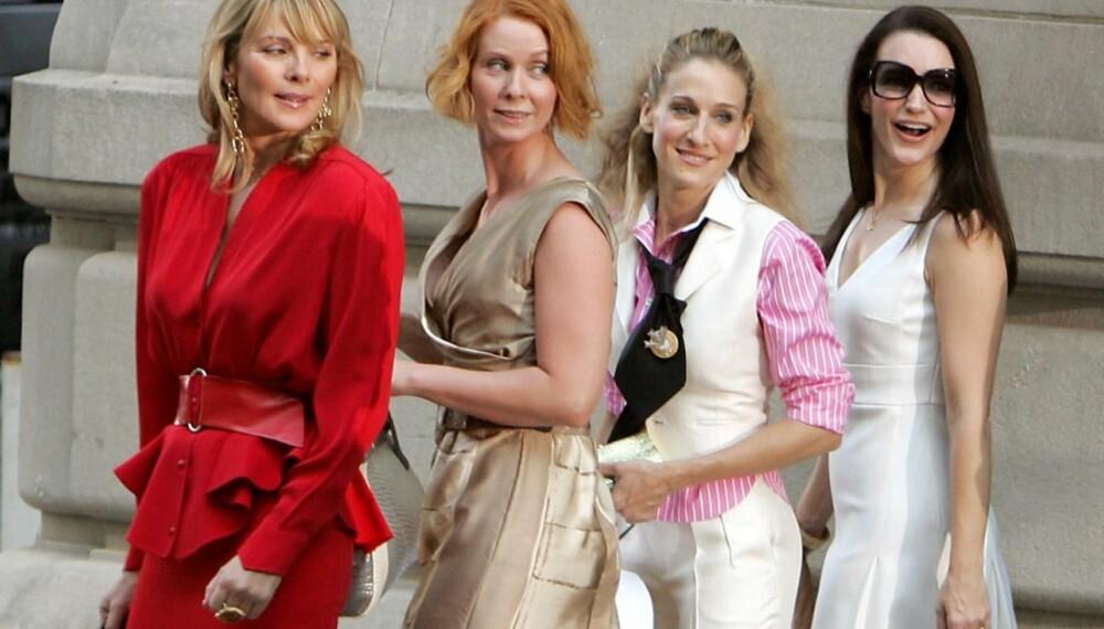 Samantha, Miranda, Carrie og Charlotte