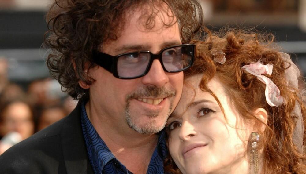 Tim Burton og Helena Bonham Carter