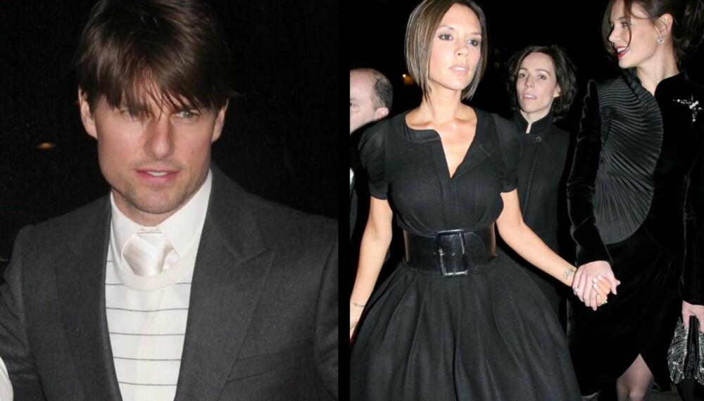 Tom Cruise, Victoria Beckham og Katie Holmes