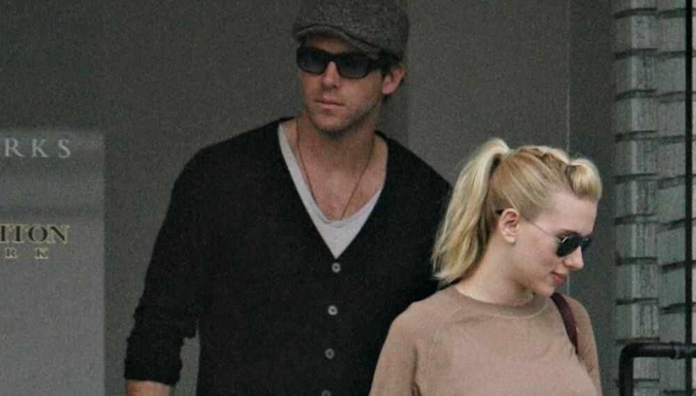 Scarlett Johansson og Ryan Reynolds