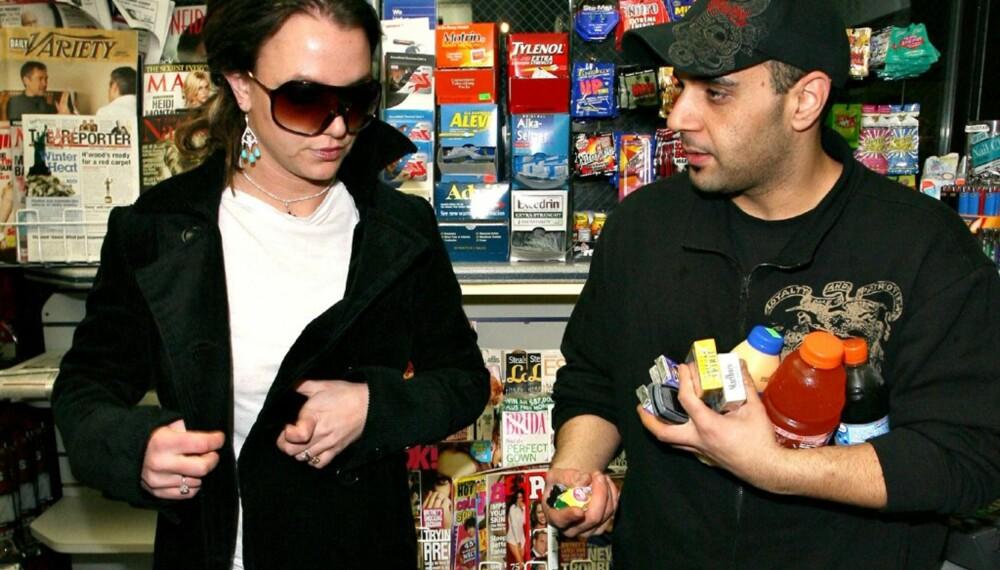 Britney Spears og Sam Lufti