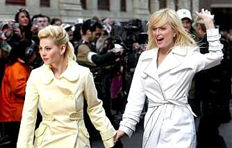 Paris Hilton og Elisha Cuthbert