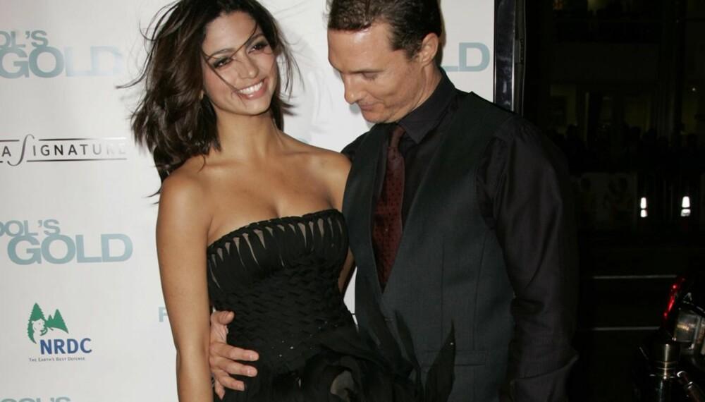 Matthew McConaughey og Camilla Alves