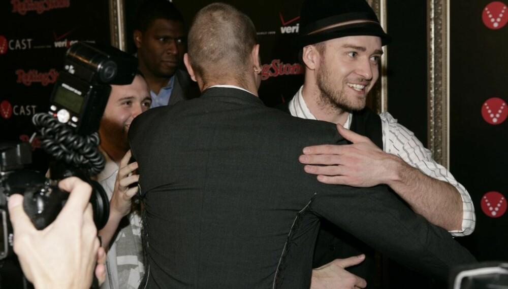 Kevin Federline og Justin Timberlake