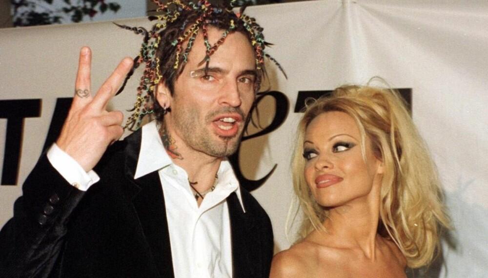 Tommy Lee og Pamela Anderson