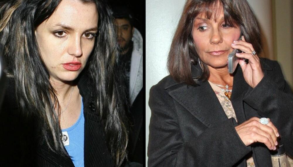 Britney Spears og moren Lynne Spears