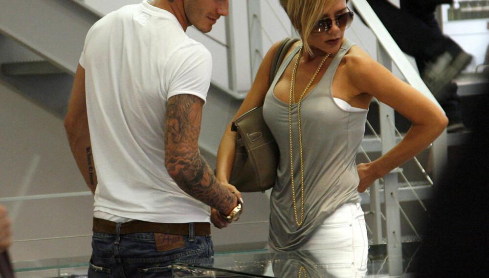 David og Victoria Beckham