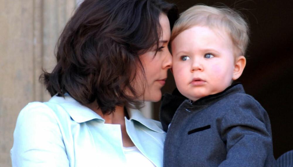 Prinsesse Mary og prins Christian