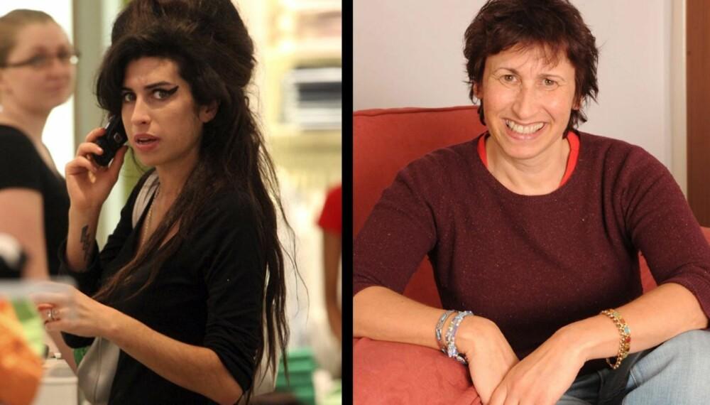 Amy og Janis Winehouse