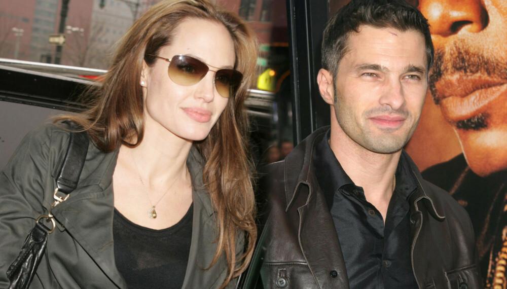 Angelina Jolie og Olivier Martinez