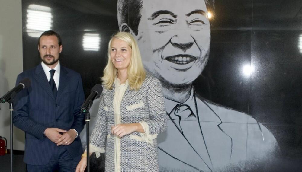 Mette-Marit og Haakon i Sør-Korea