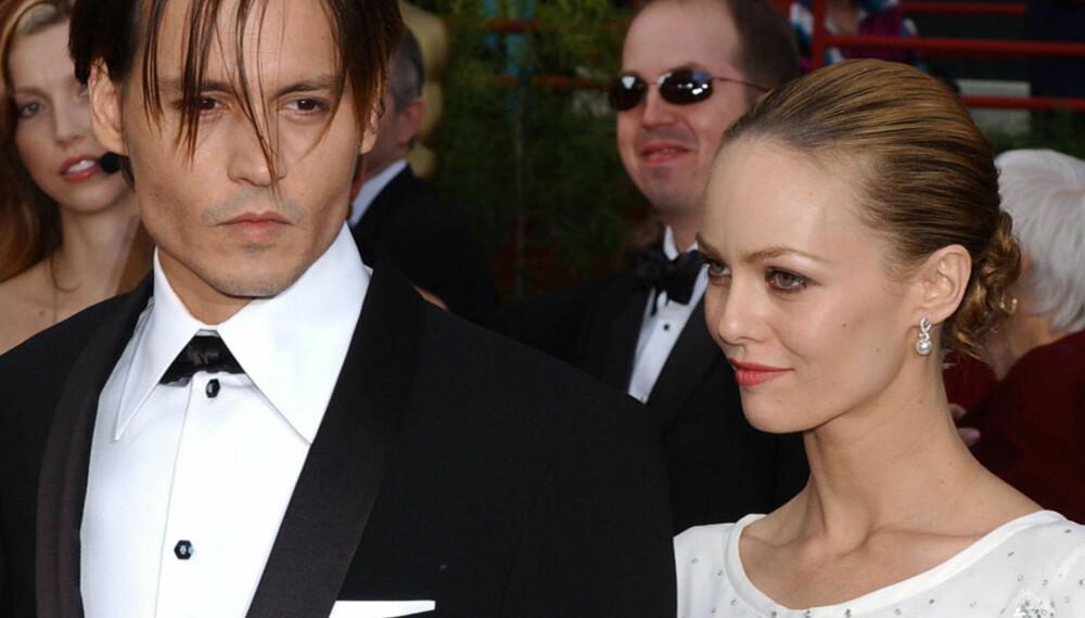 Johnny Depp og Vanessa Paradis