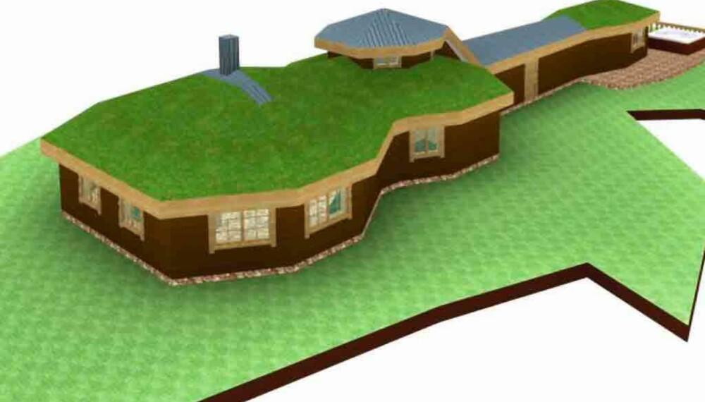 Kurt Nilsens nye hytte
