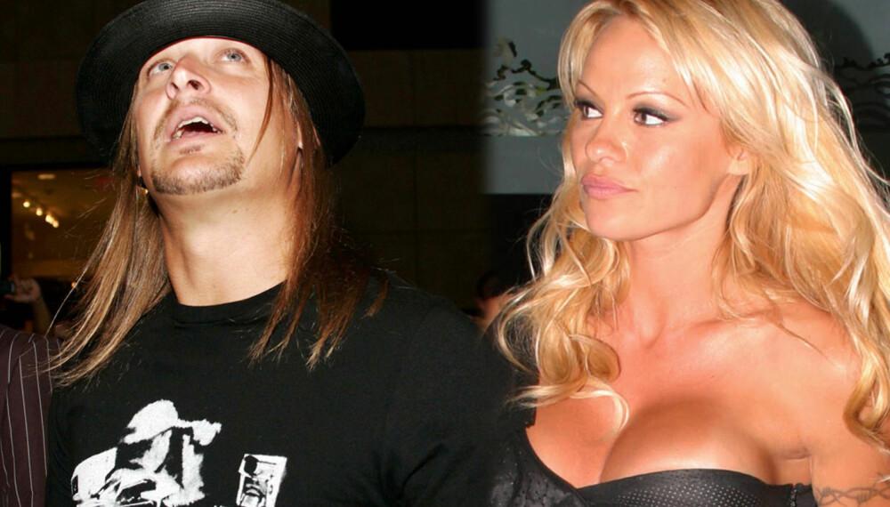 Kid Rock og Pamela Anderson