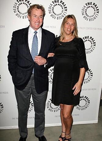John McGinley og kona Nichole