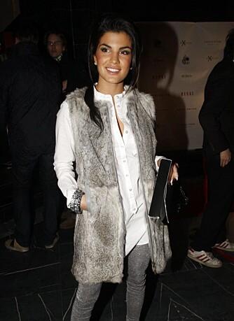 Aylar Lie på Oslo Fashion Week