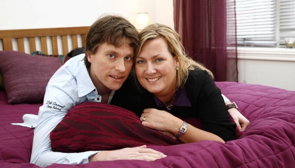 Hilde Rietig med kjæresten Fritjof