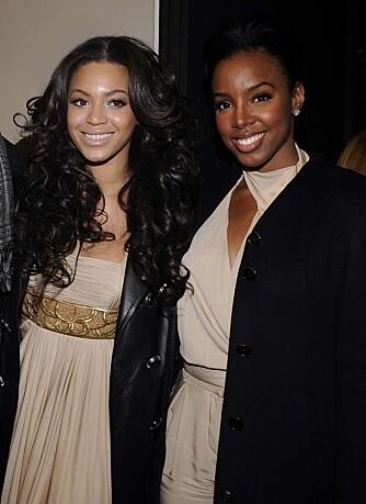 Beyoncé Knowles og Kelly Rowland
