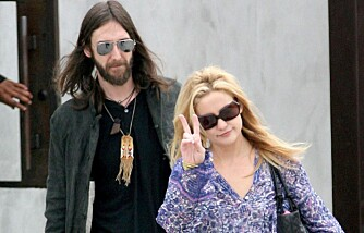 Kate Hudson og Chris Robinson