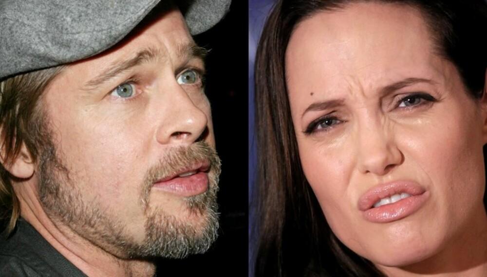KRANGLER: Brad Pitt og Angelina Jolie