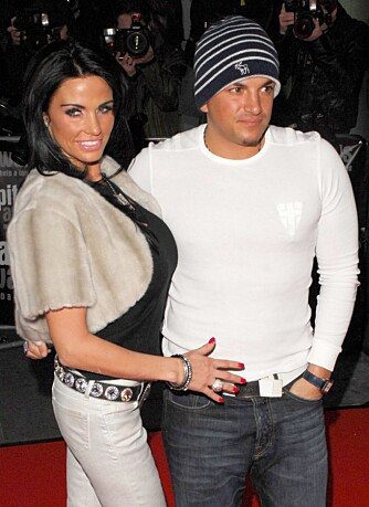 Katie Price og Peter Andre
