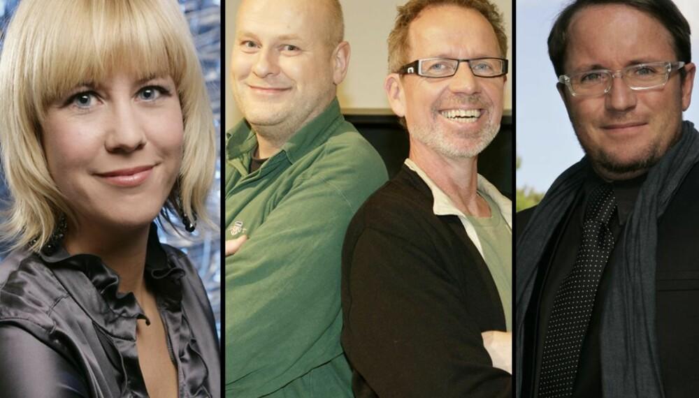 Hanne Hoftun, Jostein Pedersen, Ivar Dyrhaug og Per Sundnes