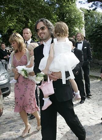 Märtha Louise og Ari Behn pluss barna