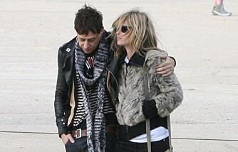 Kate Moss og Jamie Hince