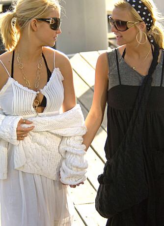 Jessica og Ashlee Simpson