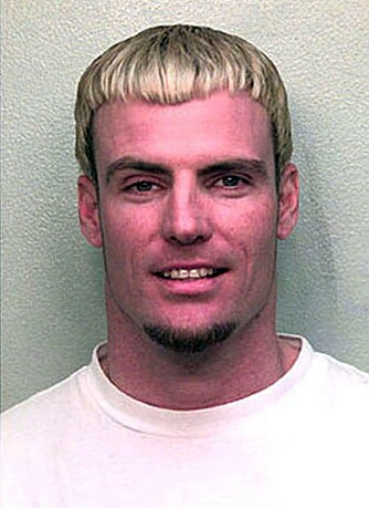 Vanilla Ice' arrestasjonsfoto fra 2001