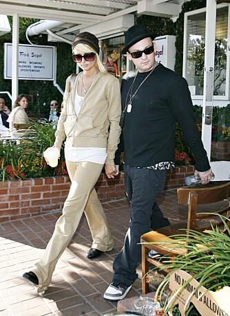Paris Hilton og Benji Madden