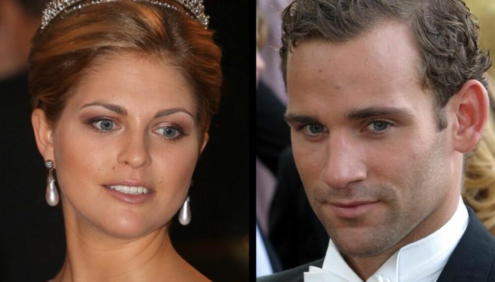 Prinsesse Madeleine og Jonas Bergström