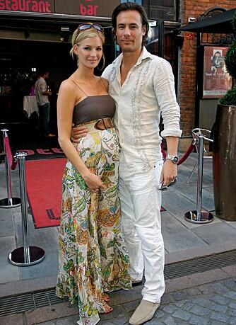 FORELDRE: Kathrine Sørland og Andreas Holck fikke nylig en gutt.