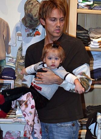 Dannielynn Hope med pappa Larry Birkhead