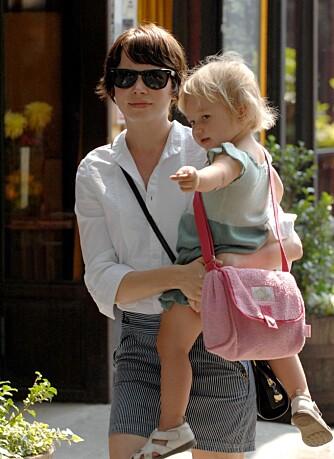 Michelle Williams og datteren Matilda
