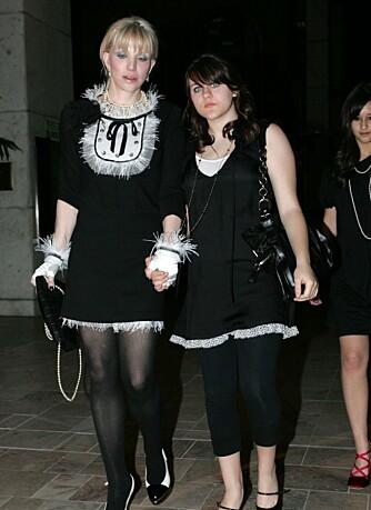 Courtney Love og datteren Frances Bean