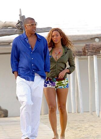 Jay-Z og Beyoncé Knowles