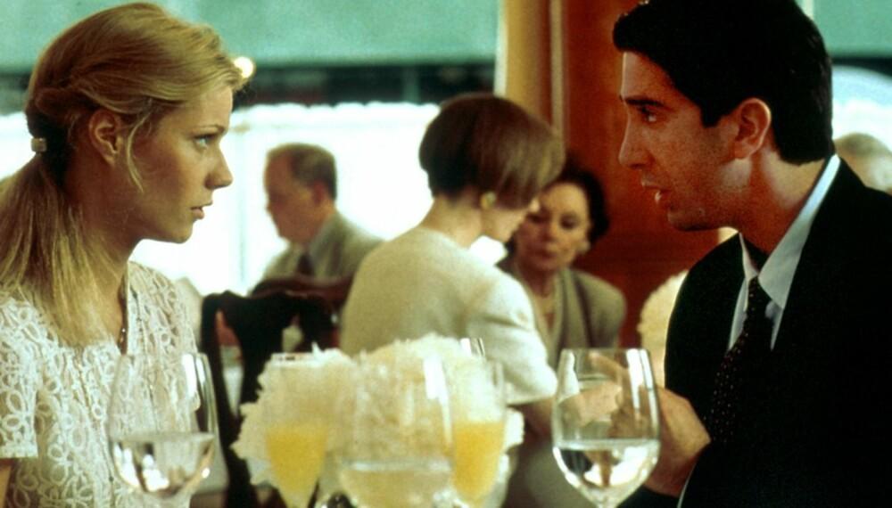David Schwimmer og Gwyneth Paltrow i filmen The Pallbear