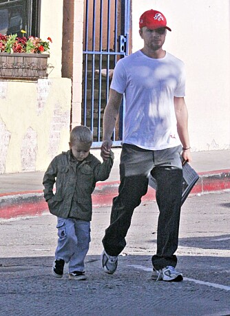 Ryan Phillippe og sønnen Deacon