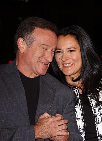 Robin Williams og kona Marsha
