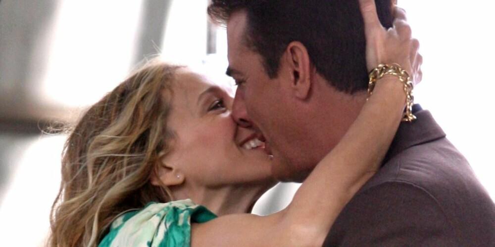 """FILMKYSS: Sarah Jessica Parker og Chris Noth spiller Carrie og Mr. Big i """"Sex og singelliv"""""""
