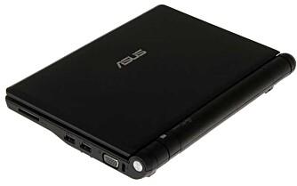 Asus Eee PC er utrolig liten og lett. For mange vil det nok være PC nummer to eller tre i huset.