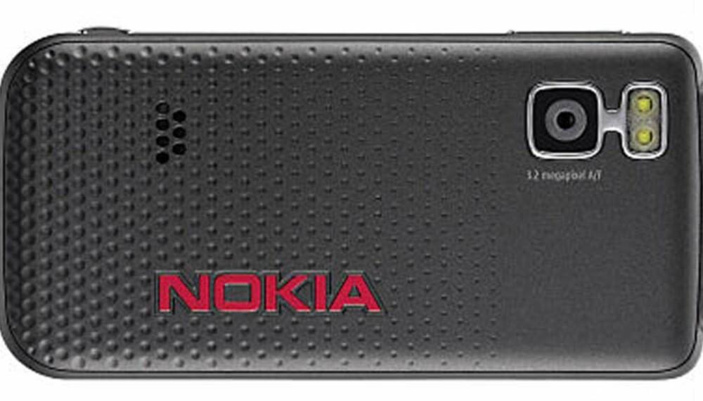 Nokia 5610 er først og fremst en musikktelefon, men har også et kamera med 3,15 megapiksels oppløsning.