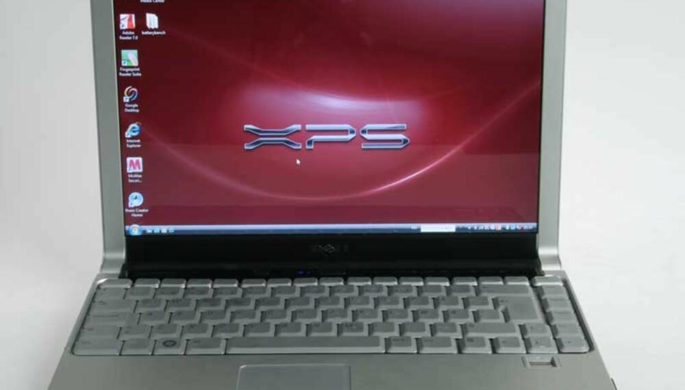 SLANK: Dells nye lette forbruker-PC har fått en slank og sprek design.